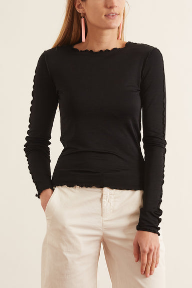 Ziggy Top in Black