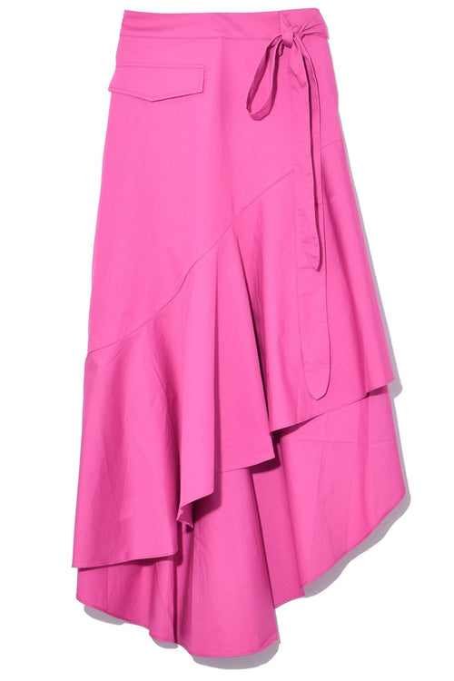 Amalia Skirt in Meadow Fuchsia