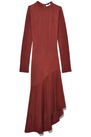 Bajnok Dress in Tonka Brown
