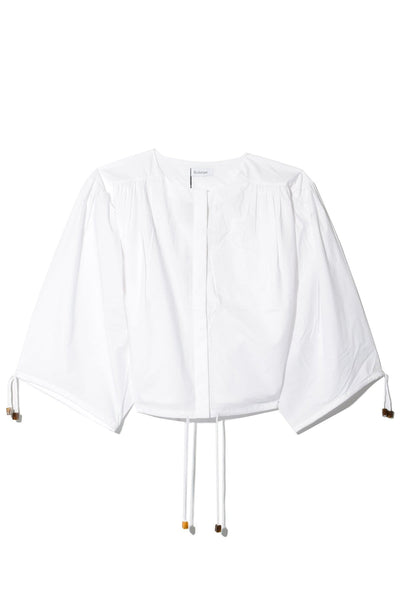 Breeze Cotton Blouse in White