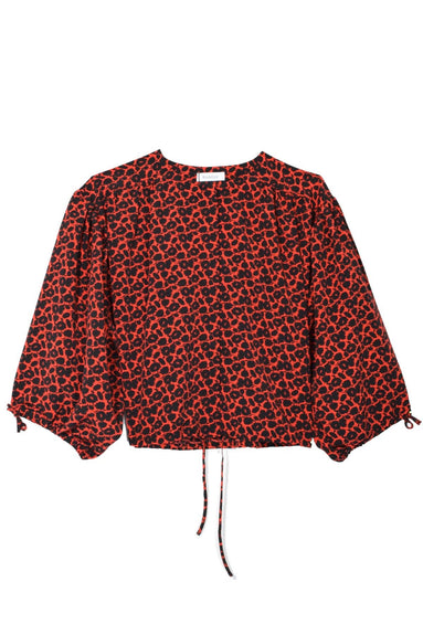 Breeze Mini Blouse in Poppy