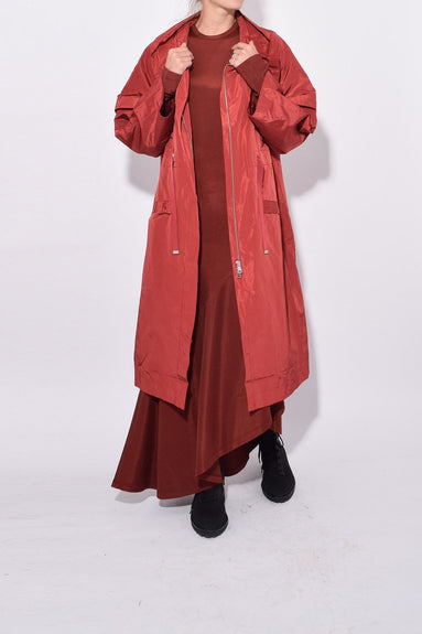 Franciska Jacket in Brick Red