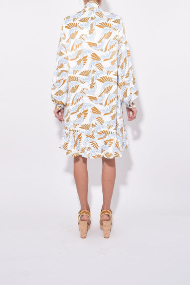 Klement Bird Dress in Ecru