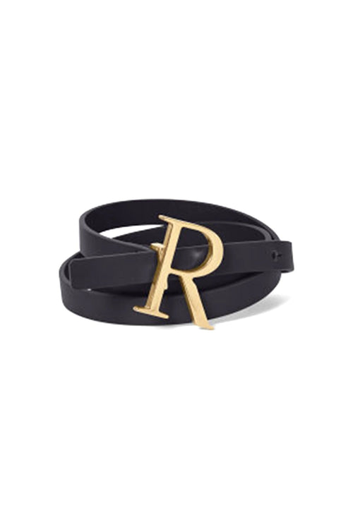 Logo Belt in Gold