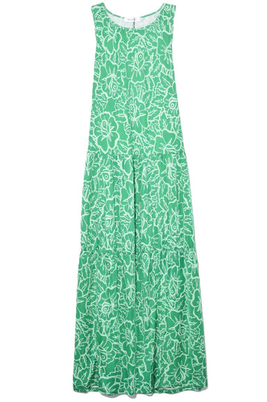 Louiza Rose Dress in Spring Green