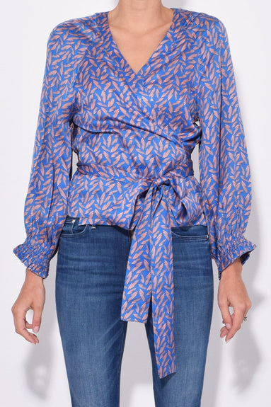 Sali Wings Top in Dark Navy