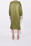 Sim Dress in Khaki Green