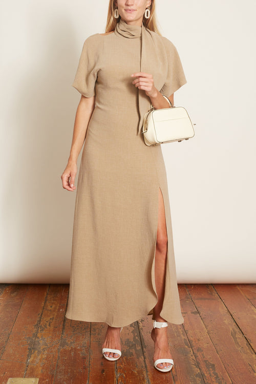 Lye Dress in Raw Clay