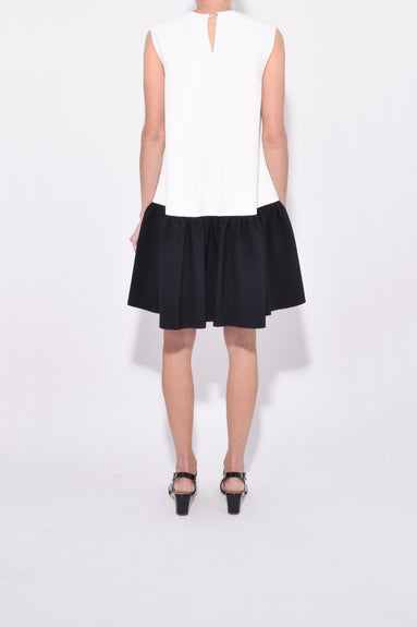 Fuji Dress in Black/White