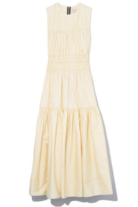 Isilda Dress in Elderflower
