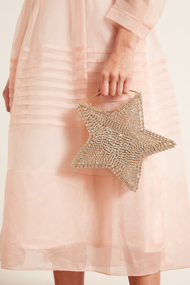 Cielo Clutch in Gold