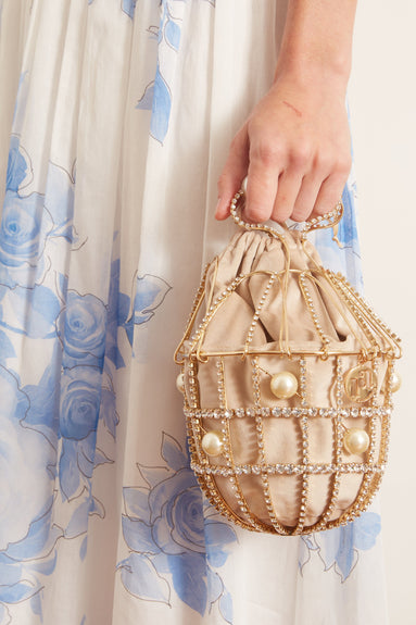 Ginestra Clutch in Gold