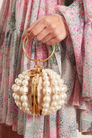 Mini Billie Bag in Pearl