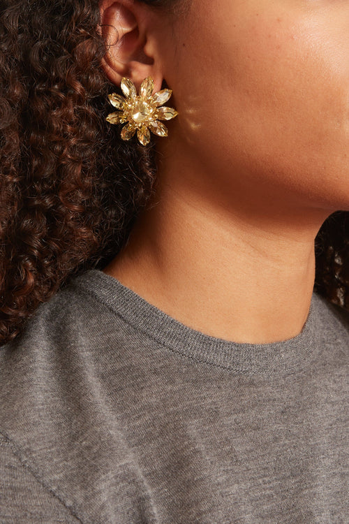 Utopia Earrings in Yellow