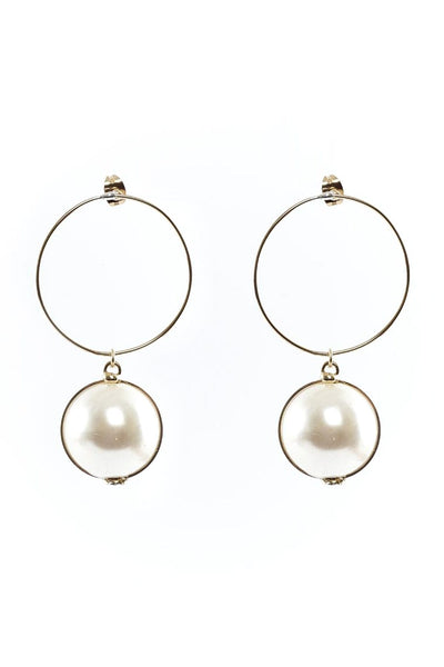 Epica Earrings in Pearl