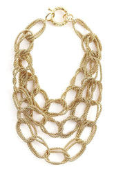 Onore Links Chain Necklace in Gold