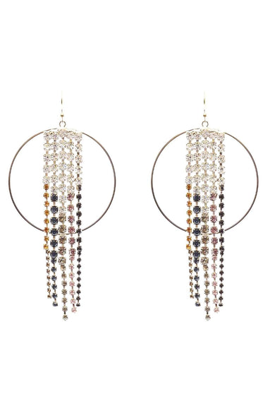 Sublime Hoop Earrings in Multi