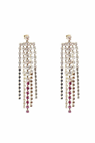 Sublime Straight Drip Earrings in Multi