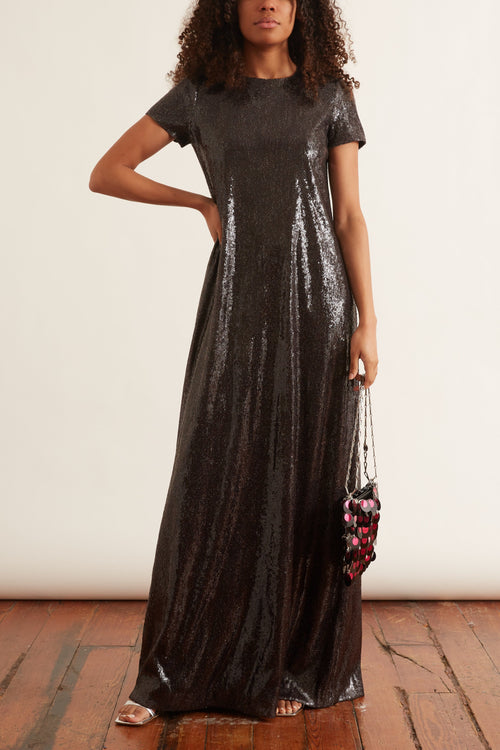 T-Shirt Gown in Black