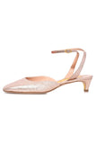 Cornelia Sandal in Rose Gold