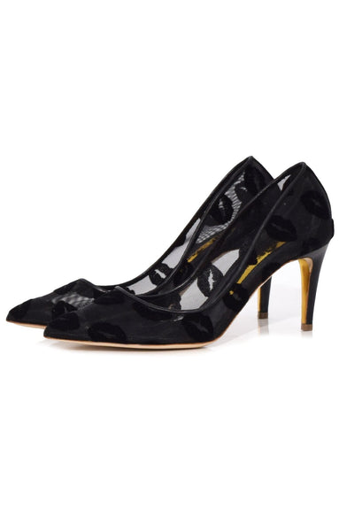 Spice Mesh Pump in Nero
