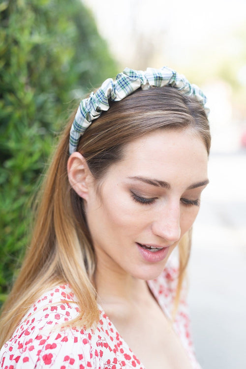 Beach Hair Headband in Green