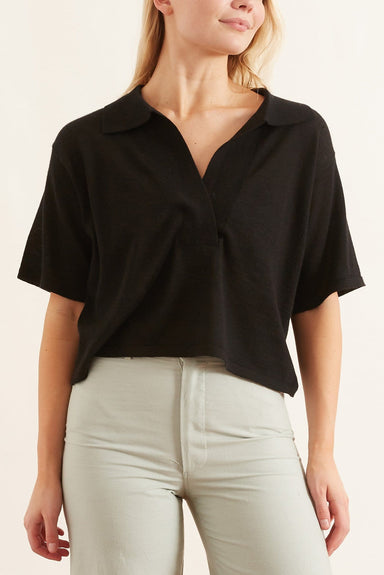 Mariel Top in Black