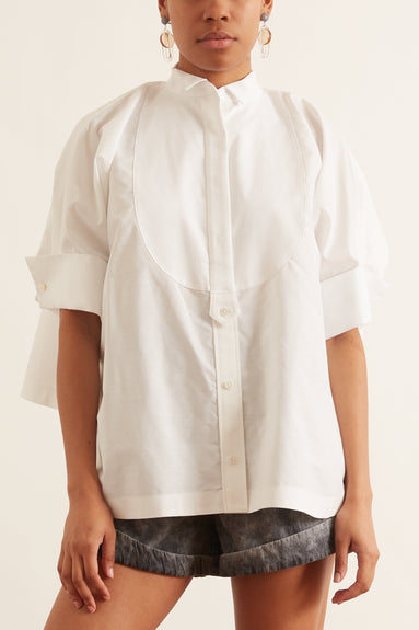 Poplin Shirt in White