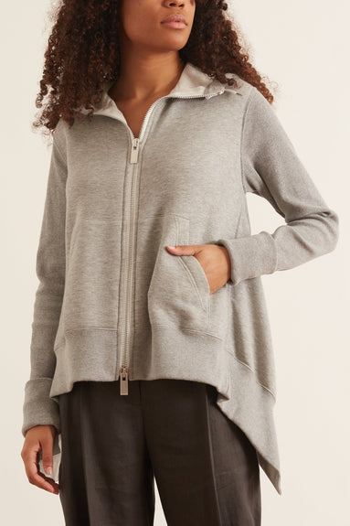 Sponge Sweat Hoodie in Light Grey