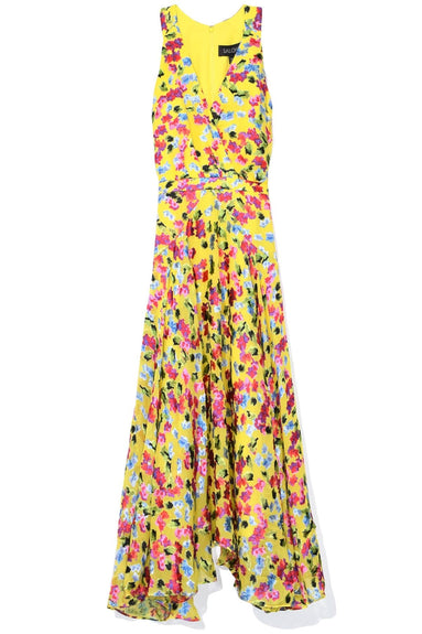 Rita Short B Dress in Yellow Gardenia