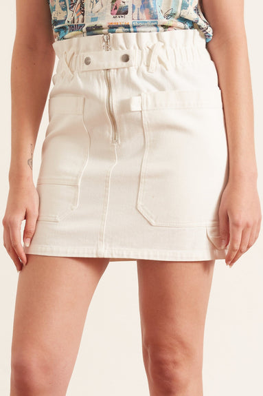Mara Skirt in White