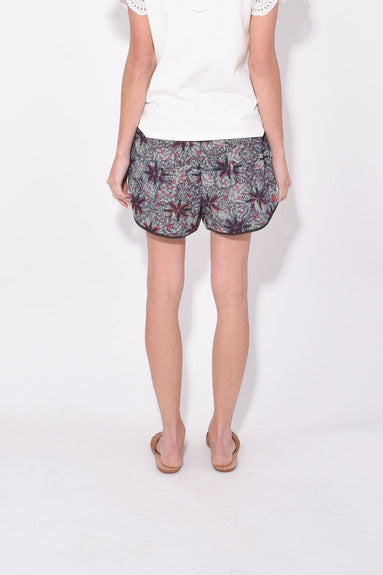 Kaleidoscope Short in Blue Multi