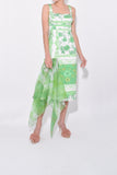 Agnetha Dress in Green Bandana
