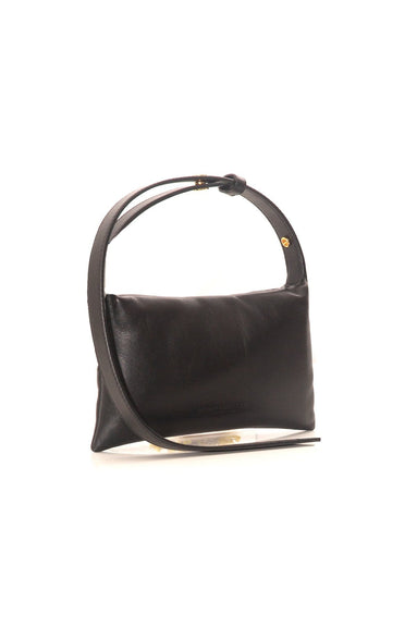 Mini Puffin Bag in Black