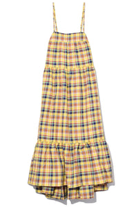 Pumpa Dress in Autumn Plaid