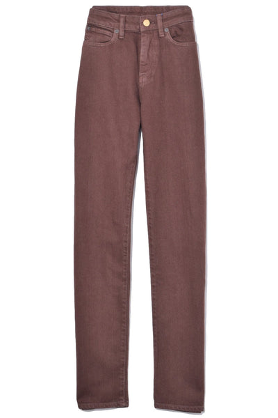 W009 Pant in Chocolate