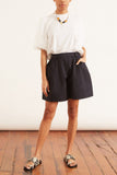 Sculpted Shorts in Navy