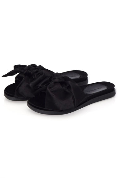 Bow Slide in Black
