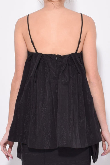Sleeveless Wide Top in Black