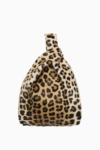 Furrissima Leather Bag in Animalier Print