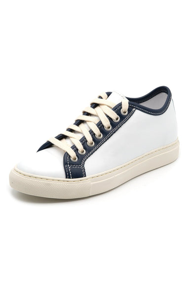Frida Sneakers in White/Blue