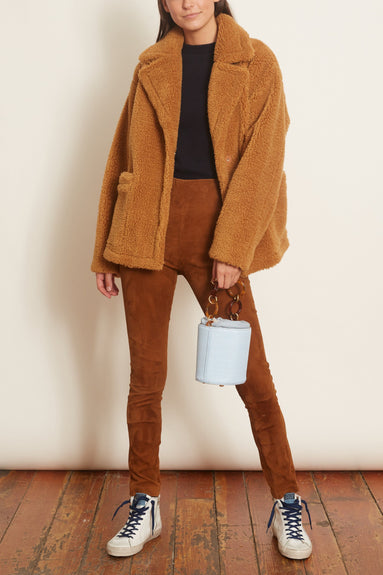 Marina Jacket in Nougat