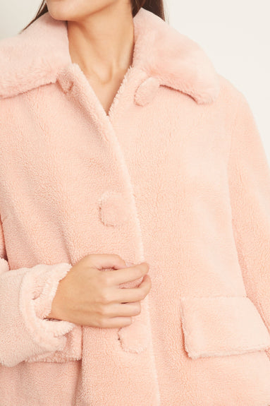 Regina Jacket in Seashell Pink