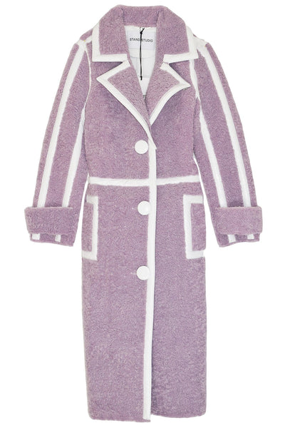 Kenzie Coat in Pale Iris