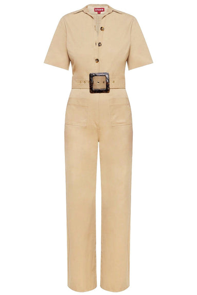 Davey Jumpsuit in Sand