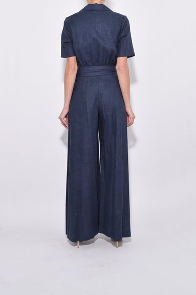 Zissou Jumpsuit in Navy