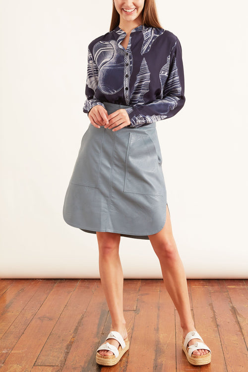 Ivy Skirt in Mist