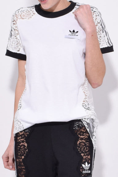 Adidas T-Shirt in Pure White