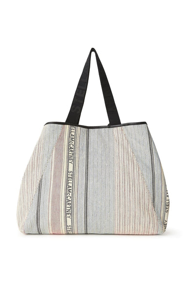 Patchwork Big Logo Tote in Multicolor