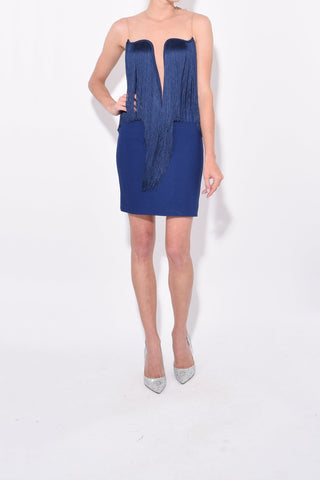 Giselle Dress in Blue Note